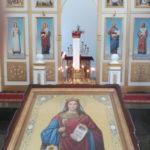 Новая икона святой великомученицы Варвары в Успенском соборе