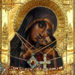 Касперовская икона Божией Матери в Успенском соборе