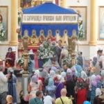 Престольный праздник в Успенском соборе